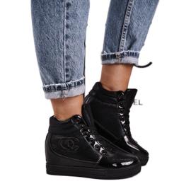 Haver Damen Sneakers Stiefeletten Black Carol schwarz