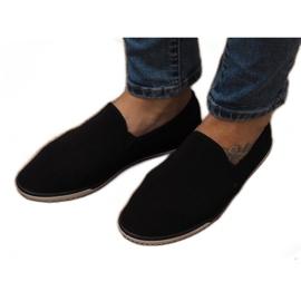 Lycra D16M Schwarze Slip-On Sneakers