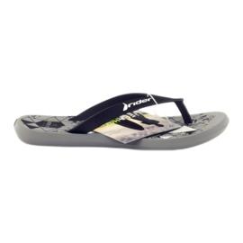 Schwarze Flip-Flops für Wasser Rider 81561