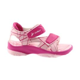 Rosa Sandalen Kinder Klettschuhe für Wasser Rider 488 pink