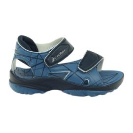 Rider Blaue Klettschuhe der Sandalen Kinder für Wasserfahrer