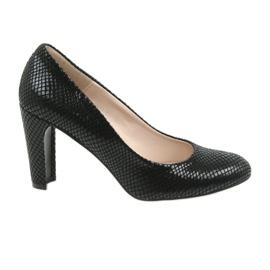 Schwarze Sagan 2600 schwarze Schuhe