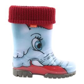 Demar Kinder Stiefel Gummistiefeln mit einer Socke