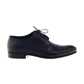 Oxford Schuhe Pilpol 1607 Marineblau