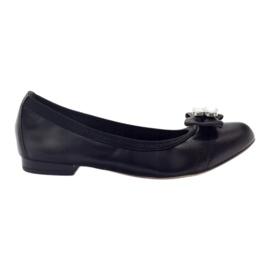 Ballerinas Damenbogen Gamis 1402 schwarz