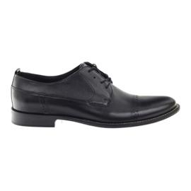 Badura klassische schwarze Schuhe für Männer 7599