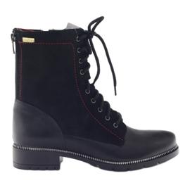 Stiefel Damen Stiefel Kazkobut 2809 schwarz