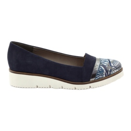 Edeo Schuhe LORDSY bequemes Marineblau