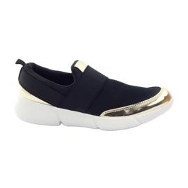 McKey Sport-Softshell-Schuhe in Schwarz / Gold