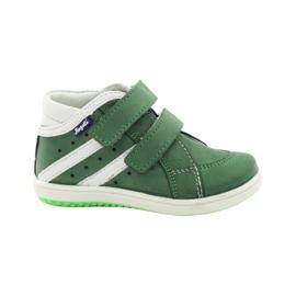 Lederschuhe Hugotti grün Velcro