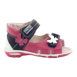 Mädchen Sandalen - Schmetterling Bartuś rosa