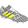 Fußballschuhe adidas Nemeziz 17.1 Fg M BB6075 weiß, schwarz weiß