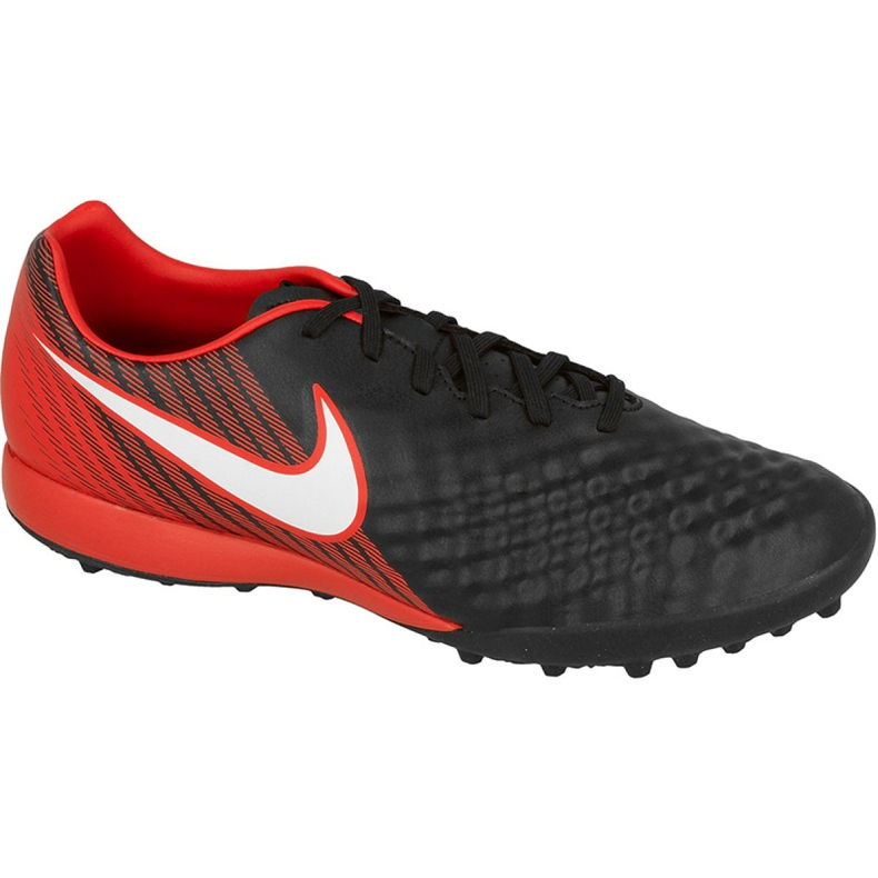 Fußballschuhe Nike MagistaX Onda Ii Tf M schwarz, rot schwarz