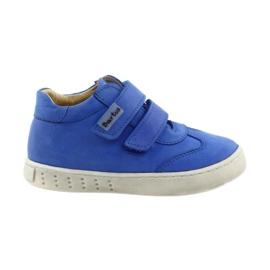 Blau Jungenschuhe für Velcro Bartuś