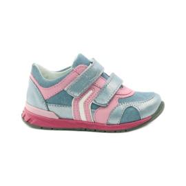Ren But Velcro Booties 1445 pink