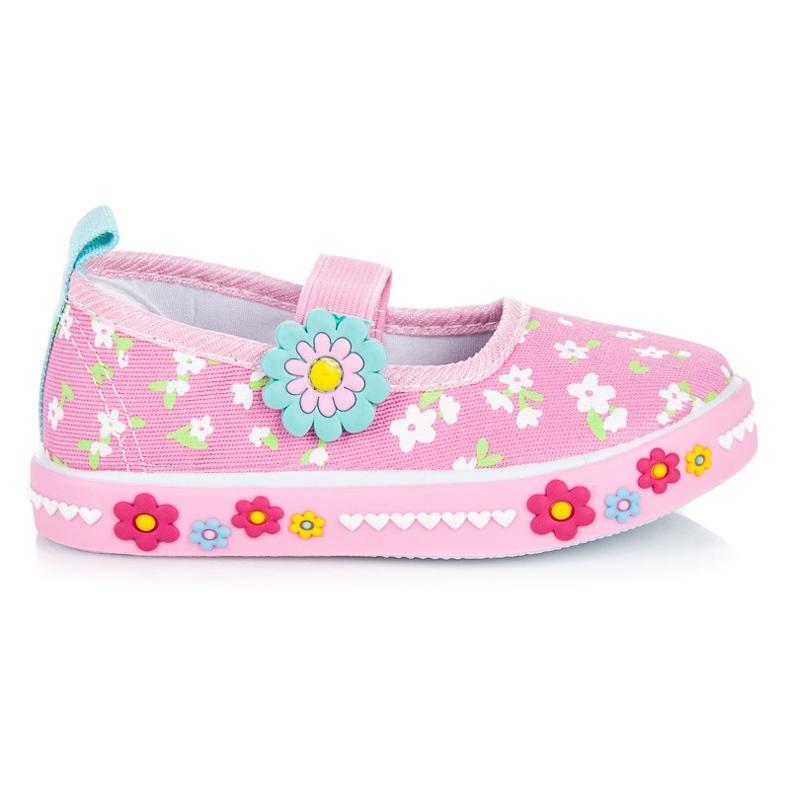 American Club Schuhe für den Kindergarten pink