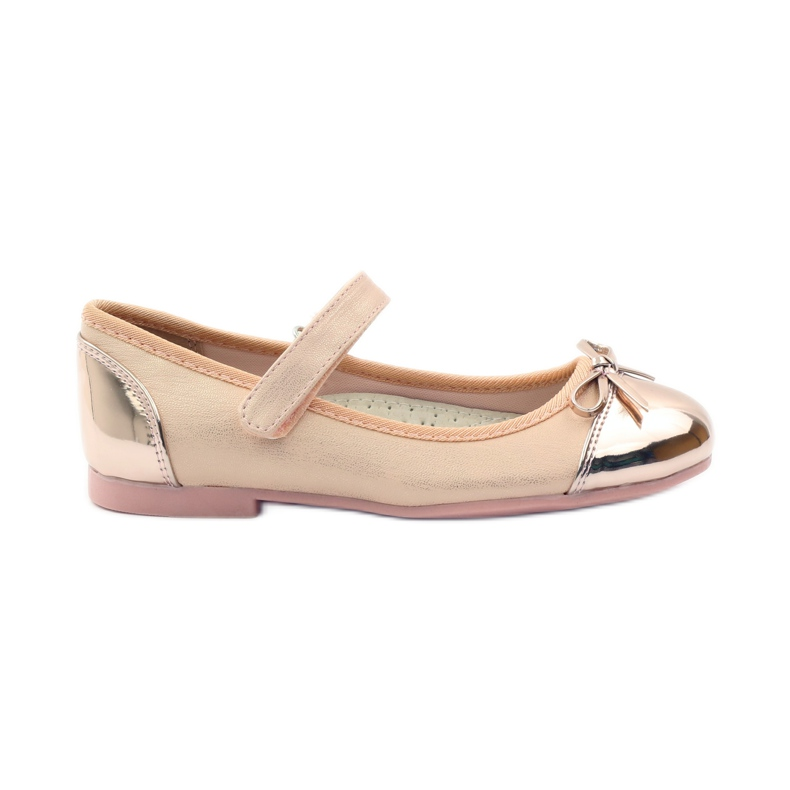 American Club Velcro Ballerinas Schuhe American 14297