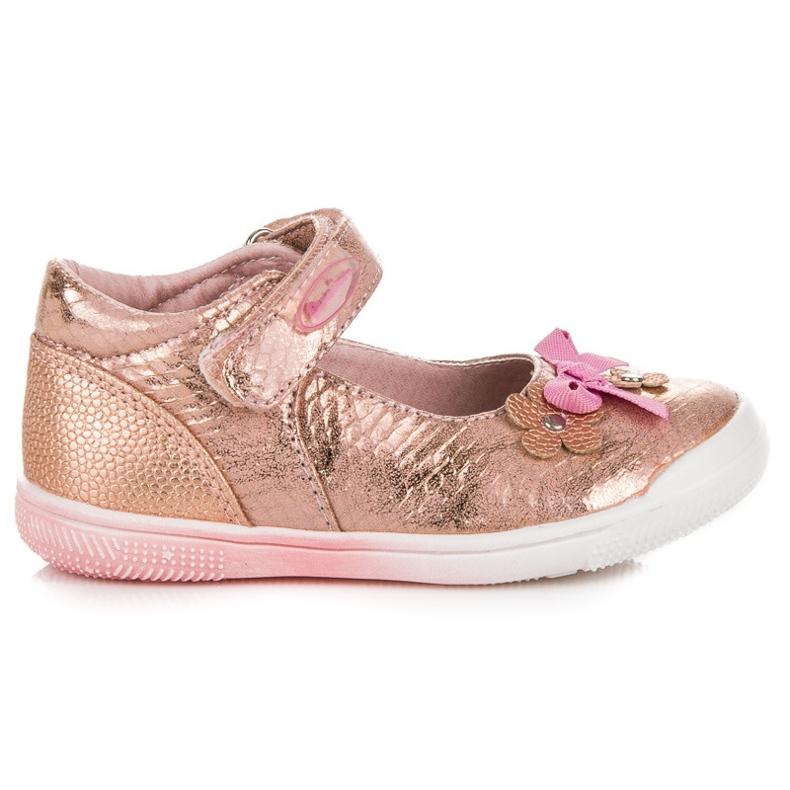American Club Rosafarbener Amerikaner der Schuhe im Frühjahr pink