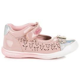 American Club Durchbrochene amerikanische Schuhe pink