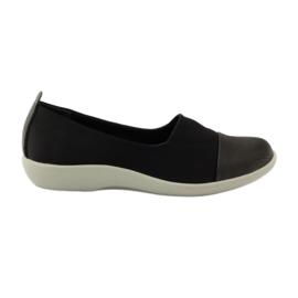 Schwarz Sehr bequeme Schuhe Aloeloe Slipons