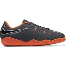 Nike Hypervenom PhantomX Fußballschuhe grau grau / silber