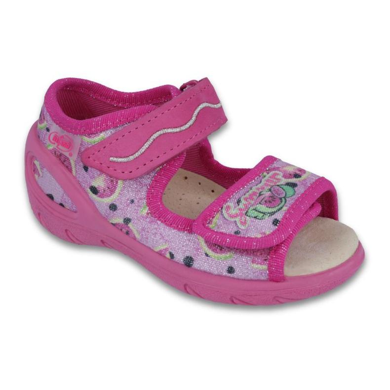 Befado PU 433P030 Kinderschuhe pink