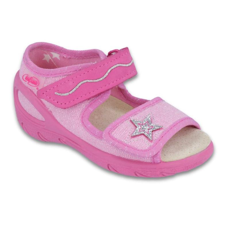 Befado PU 433P032 Kinderschuhe pink