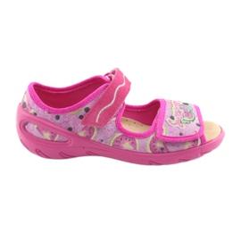 Pink Befado Kinderschuhe PU 433X030