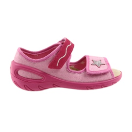 Befado Kinderschuhe PU 433X032 pink