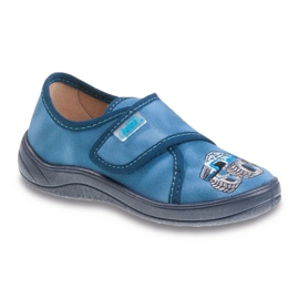 Befado Kinderschuhe 463X252 blau