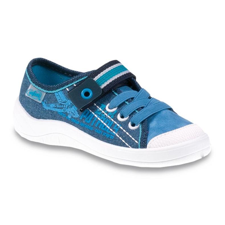 Befado Kinderschuhe 251Y092 blau
