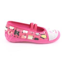 Befado Kinderschuhe 116X226 pink