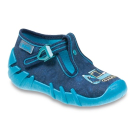 Befado Kinderschuhe 110P306 blau