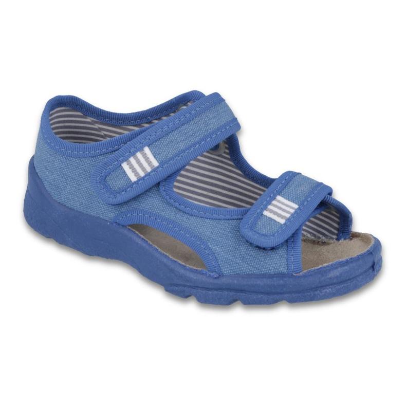 Befado Kinderschuhe 113X010 blau