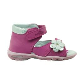 Ren But Klett-Sandalen mit Blume Ren Aber 097 pink
