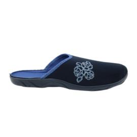 Befado bunte Frauen Schuhe PU 235D157 marine