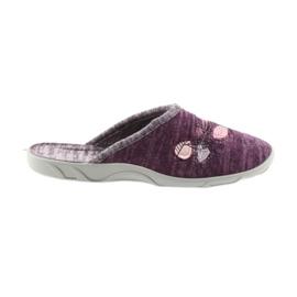 Befado bunte Frauen Schuhe PU 235D152 lila