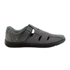 Riko Herrenschuhe Sandalen 851 grau