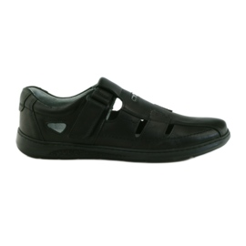 Grau 851 Sandalen von Riko Shoe Men