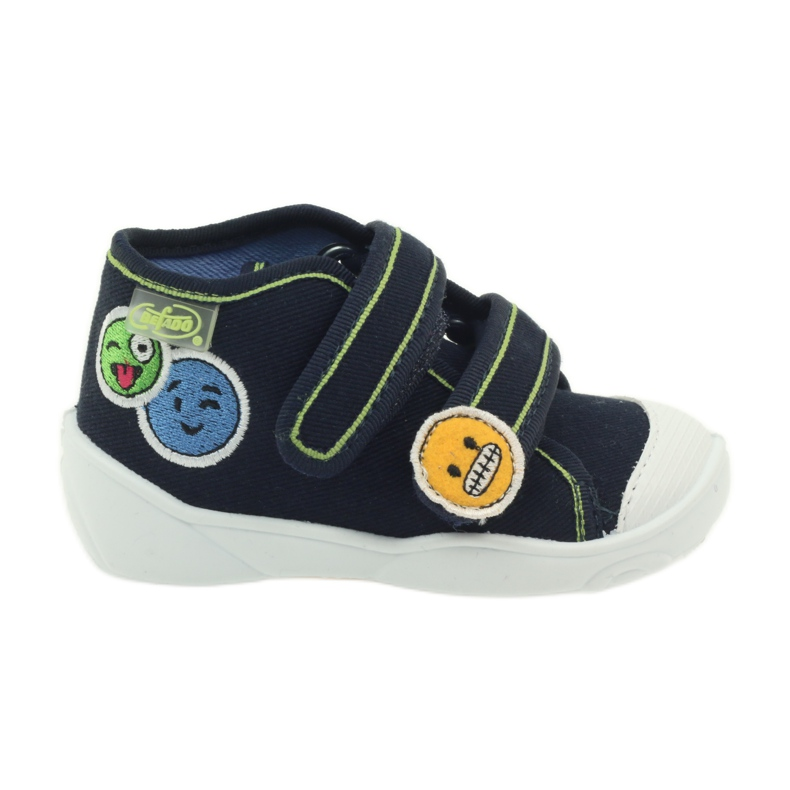Hausschuhe Sneaker Befado 212p054 Marineblau