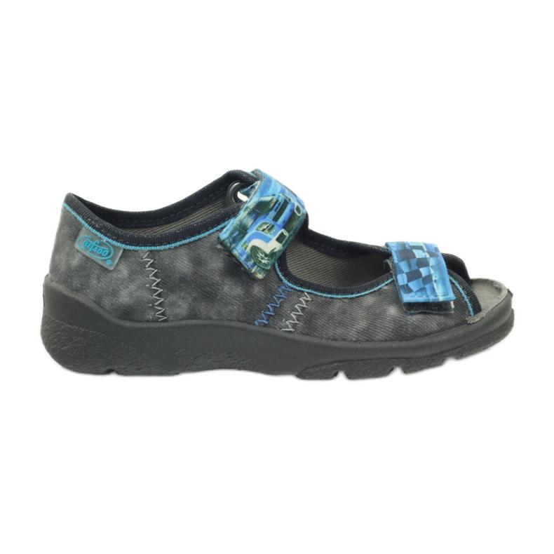 Sandalen Hausschuhe Klettverschluss Befado 969x117
