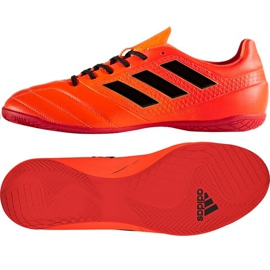 Adidas Ace 17.4 In M S77101 Indoor-Schuhe rot