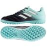 Fußballschuhe adidas Ace 17,4 Tf Jr S77121 schwarz, blau blau