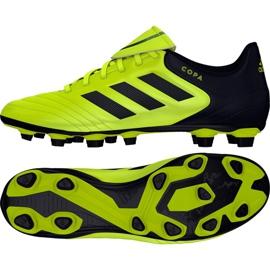 Fußballschuhe adidas Copa 17,4 FxG M S77162 schwarz, gelb schwarz
