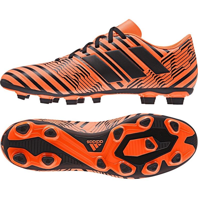 Fußballschuhe adidas Nemeziz 17.4 FxG M S80610 orange orange