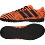 Fußballschuhe adidas Nemeziz 17.4 Tf Jr S82471 orange orange