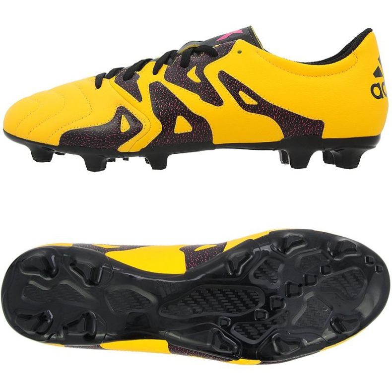 Fußballschuhe adidas X 15.3 FG / AG orange