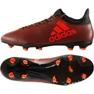 Fußballschuhe adidas X 17.3 Fg M S82365 orange schwarz, orange