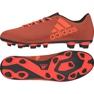 Fußballschuhe adidas X 17.4 FxG M rot