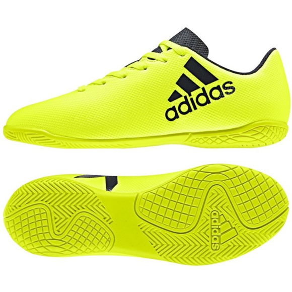 Adidas X 17.4 In Jr S82410 Hallenschuhe
